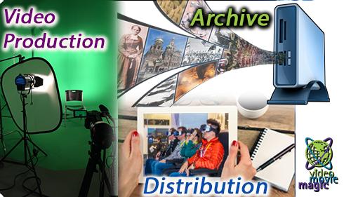 Digital Video Archiving Distribution