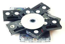 Tape to DVD Transfer Orange County